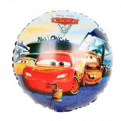 Кулька фольгована Тачки
