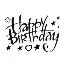 Наклейки Happy birthday