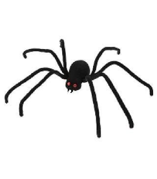 Павук декоративний чорний Елегант