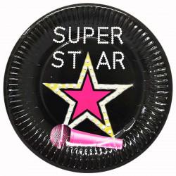 Тарілки SUPER STAR  8шт/уп