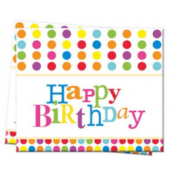 Скатертина Happy Birthday