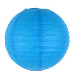 Паперова куля-ліхтар синій...