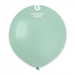 Воздушные шарики аквамарин...