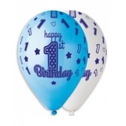 Воздушные шарики Happy 1-st...