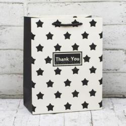 """Подарунковий пакет """"THANK YOU"""" 23*18*10см 17803 Китай"""