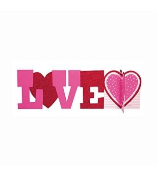 Декорация на стол Love 1шт/уп