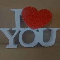 Дерев'яний Декор I Love you