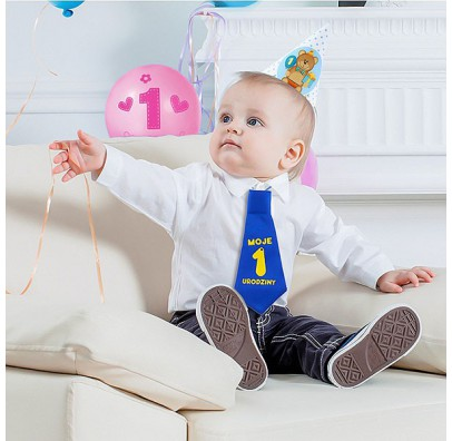 Галстук Moje 1 urodziny
