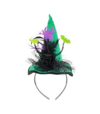 Обідок капелюх зелений Піря та кажани