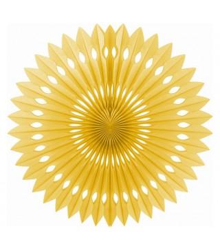 Паперова розетка золота 40 см