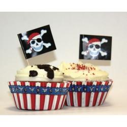 Формочки для кексів Пірат...