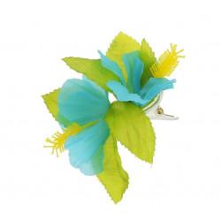 Заколка гавайська  синя