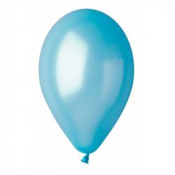 Повітряні кульки блакитні металік
