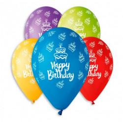Воздушные шарики Happy...