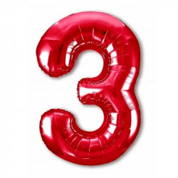 Повітряна кулька Цифра 3...