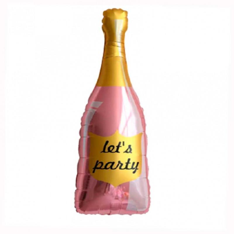 Кулька Пляшка шампанського