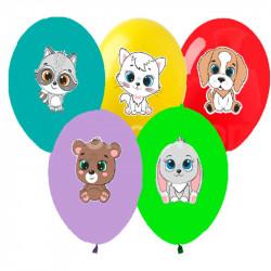 Кульки з малюнком Звірятка
