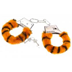 Наручники Тигрові з хутром