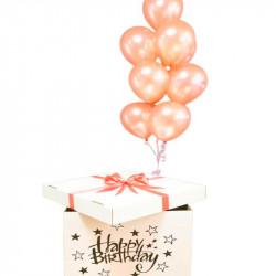 Коробка-сюрприз Happy Birthday