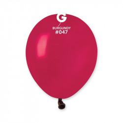 Повітряні кульки бордові...