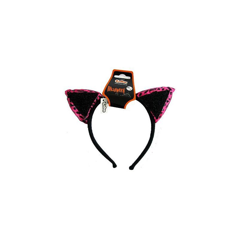 Ушки Котика розовые