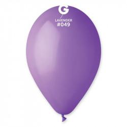 Повітряна кулька фіолетова пастель