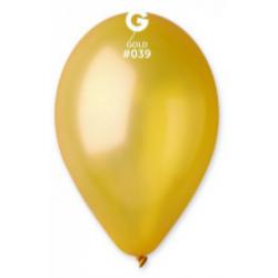 "Кульки поштучно б/малюн. 12"" металік золото латекс Ш-11391 Gemar 30см(р)"
