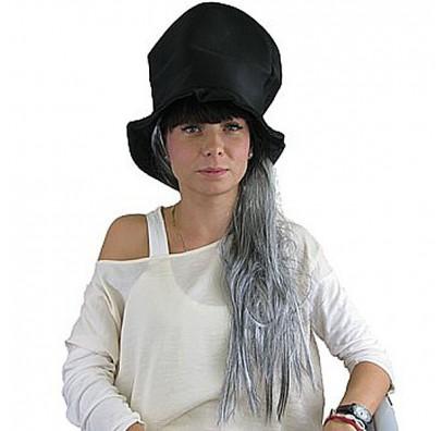 Цилиндр Halloween Вампир с волосами