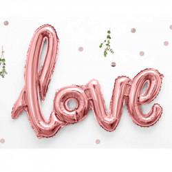 Кульки Букви Love фольга