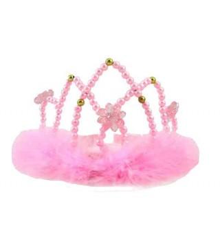Тіара Корона принцеси з пушком