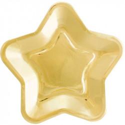 Тарілки Зірка золота