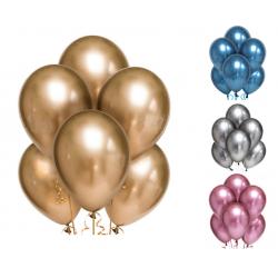 Фонтан кульки хром №5