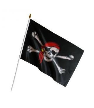 Піратський прапор 45х30 см