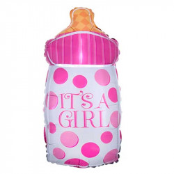 Повітряна кулька міні Пляшечка Its a Girl