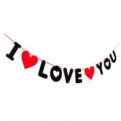 Гирлянда I love you