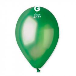 Повітряні кульки зелені металік