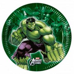 Тарілки Avengers 8шт/уп