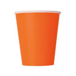 Стакани паперові оранжеві...