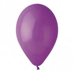 "Кульки поштучно б/малюн. 12"" паст.(фіолет) 12-G -120 Ш-00383 Globos"