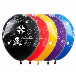 Повітряні кульки Карта...