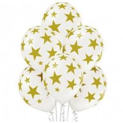 Повітряні кульки В Золоті Зірки