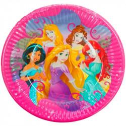 Тарілки паперові Принцеси...