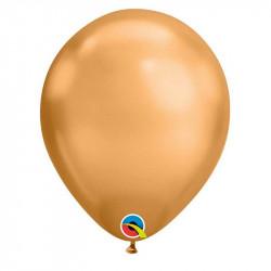 Повітряні кульки Хром мідний 100шт/уп