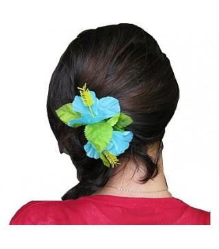 Гавайська заколка Блакитна