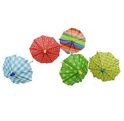 Пики для канапе с зонтиками 10шт/уп