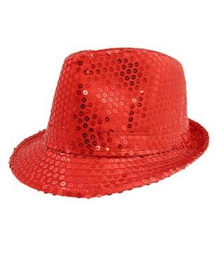 Шляпа Супер звезда красная