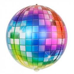 Повітряна кулька фольгована Сфера Дискобол
