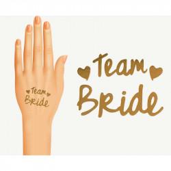 Наклейки на руку Team Bride...