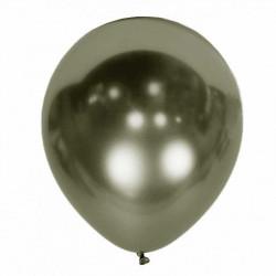 Повітряні кульки сірий графіт хром 50шт/уп