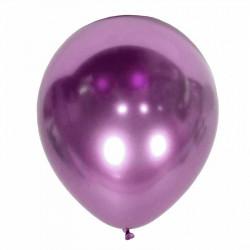 """Повітряні кульки фіолетові Хром 12"""" 50/шт/уп"""